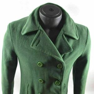 Women's Vintage Columbia Sports Green Coat Size M